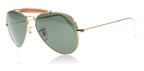 Ray-Ban Outdoorsman II Arista Crystal 001 Small (55mm)