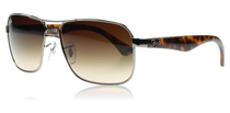 Ray-Ban 3516 Silver and Tortoise 004/13