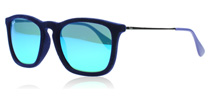 Ray-Ban 4187 Chris Blue Velvet 608155
