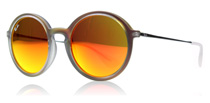 Ray-Ban 4222 Lily Shot Red Rubber 61676Q
