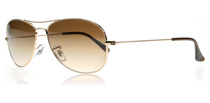 Ray-Ban Cockpit Arista Crystal Brown 001/51 Small 56mm