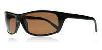Serengeti Bormio Shiny Black 8167 Polarised