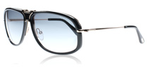 Tom Ford Robbie Shiny Black and Brown 01B