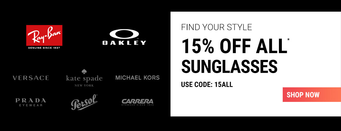 15% Off all brands