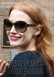 Jessica Chastain Sunglasses