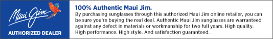 Sunglasses Shop Authorised Maui Jim Online Retailer