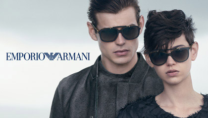 Emporio Armani Designer Sunglasses Collection at Sunglasses Shop