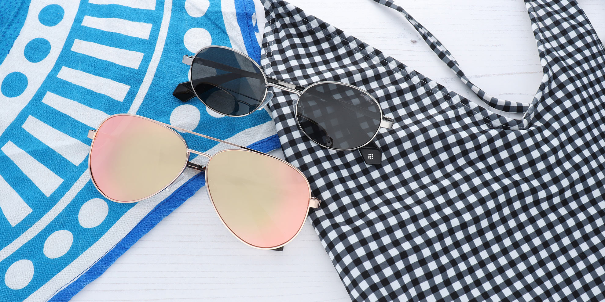 CRACK ON WITH POLAROID SUNGLASSES THIS SUMMER