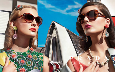 Prada Designer Sunglasses from Sunglasses Shop