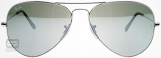 Ray-Ban 3025 Aviator Silver Mirror W3275