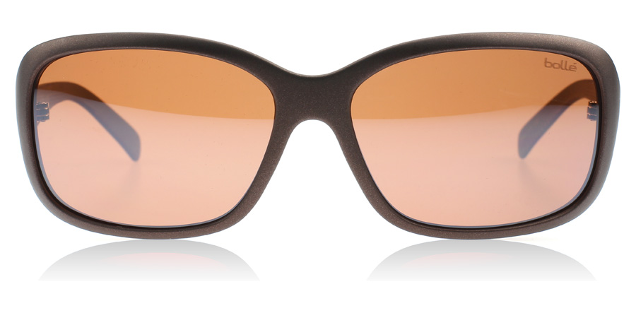 bolle polarized sunglasses auxn  Bolle Molly 11804 Matte Chocolate Polarised