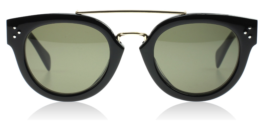 Celine Sunglasses Stockists  celine new preppy sunglasses new preppy black 41043s us