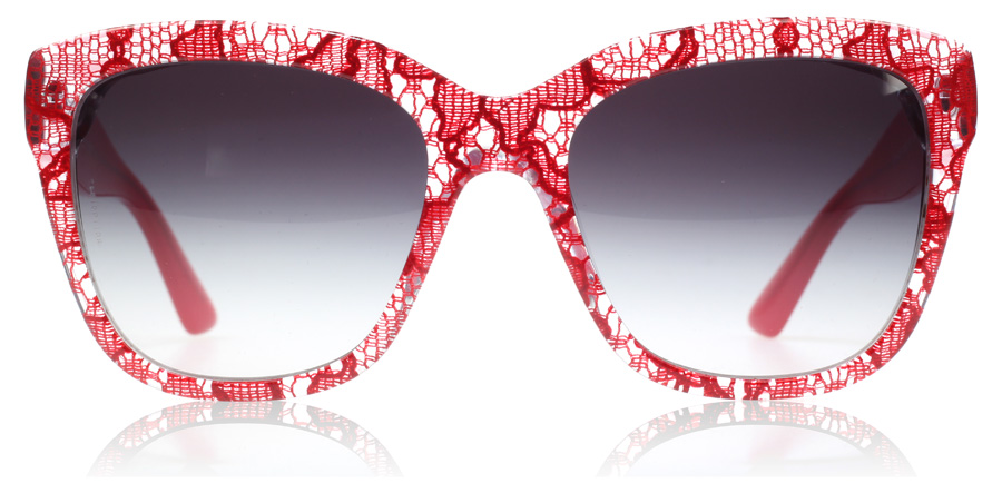 Dolce And Gabbana Red Sunglasses  4226 285285g 8053672244182 jpg