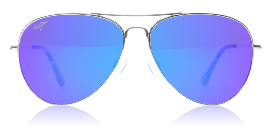 are maui jim sunglasses better than ray bans  maui jim mavericks b264 17 silver polarised