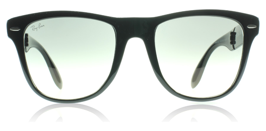 ray ban outlet montreal  ray ban 4105 wayfarer folding classic black 601/32 50