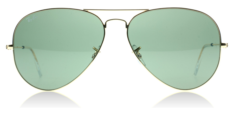 ray ban 3025 aviator sunglasses 61mw  Ray-Ban 3025 Aviator Gold 001