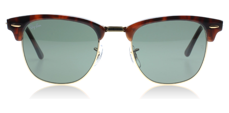 ray ban 3016 clubmaster tortoise w0366 large 51mm  Ray-Ban 3016 Clubmaster Sunglasses : 3016 Clubmaster Tortoise 3016 ...