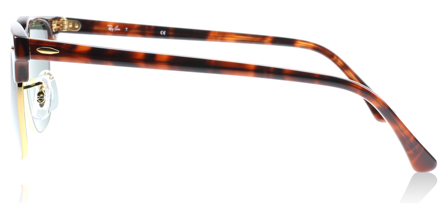 clubmaster tortoise  Ray-Ban 3016 Clubmaster Sunglasses : 3016 Clubmaster Tortoise 3016 Small  49Mm : US