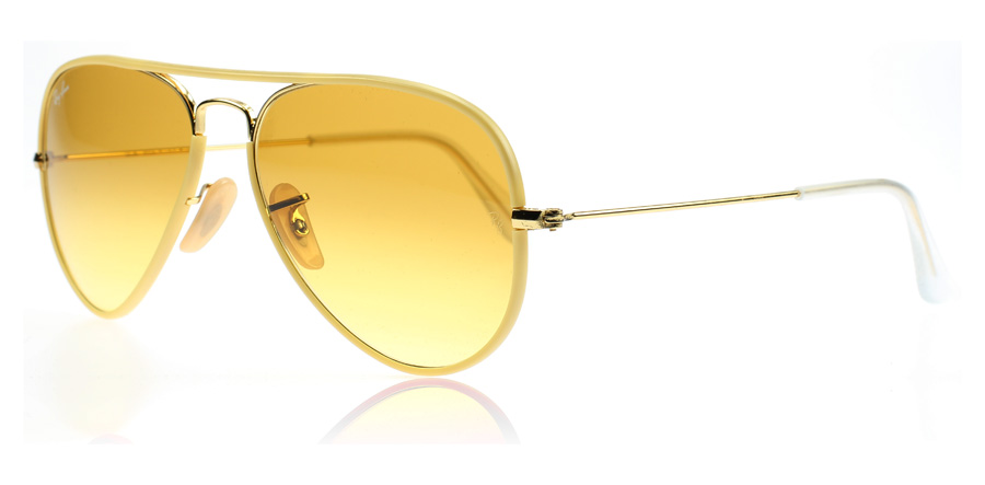 ray ban aviator sunglasses yellow  3025jm 001 x4 8053672164664 2