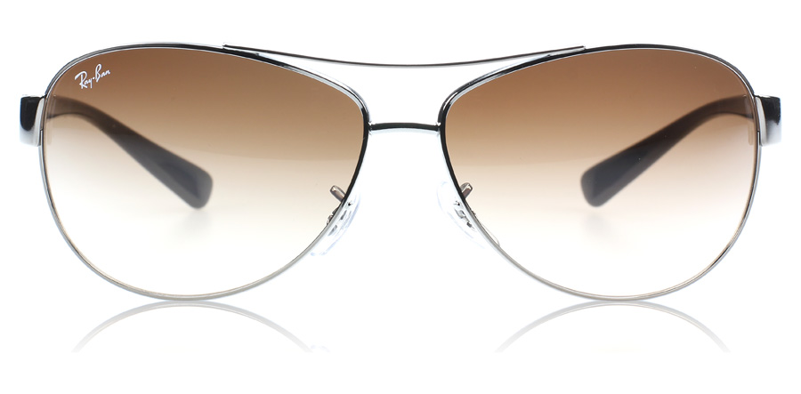 ray ban 3386 sunglasses 3386 brown gradient 004 13 small 63mm uk. Black Bedroom Furniture Sets. Home Design Ideas