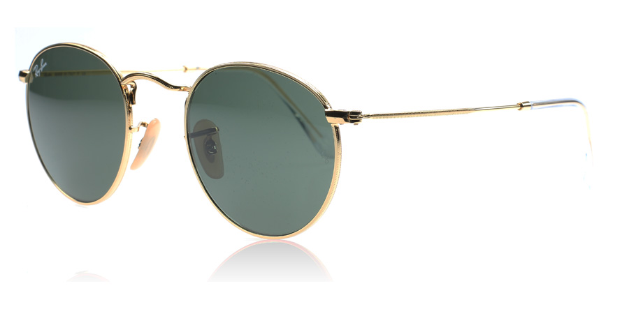 ray ban aviator sunglasses imitation  ray ban 3447 round metal sunglasses : 3447 round metal gold 3447 47mm : us