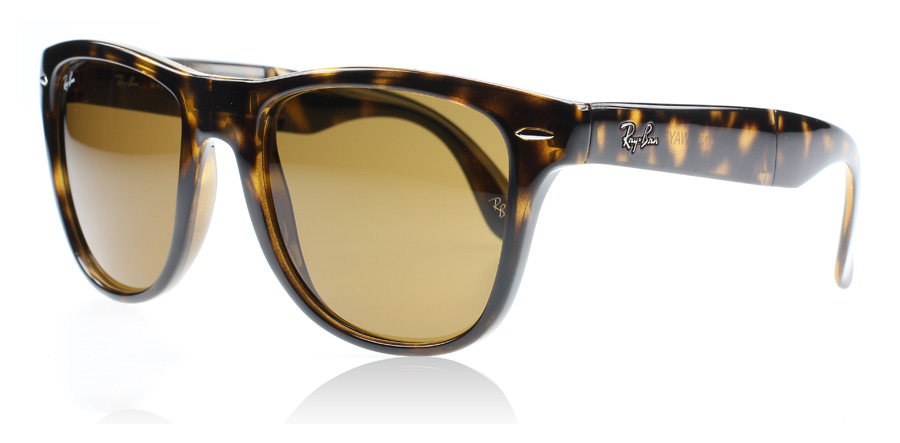 Ray Ban 4105 Folding Wayfarer Sunglasses 4105 Folding