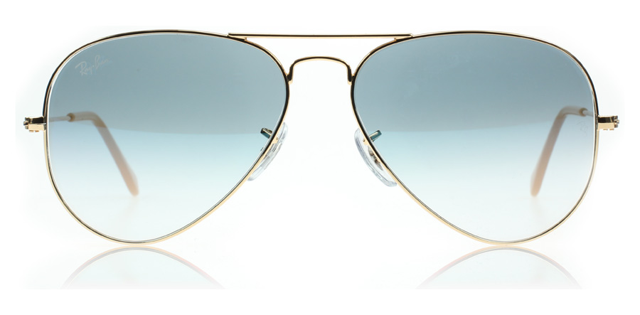 ray ban 3025 aviator sunglasses  Ray-Ban 3025 Aviator Sunglasses : 3025 Aviator Gold 3025 : US