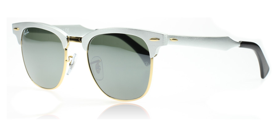 a9326778be sale ray ban clubmaster silver gold 3c43e 781b1