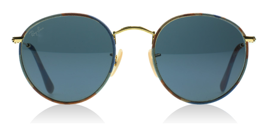 Ray Ban Brown And Blue