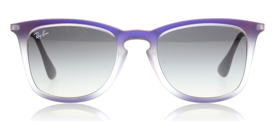 cce1455350 Ray Ban Justin Sunglasses Purple Frame Grey Lens « Heritage Malta