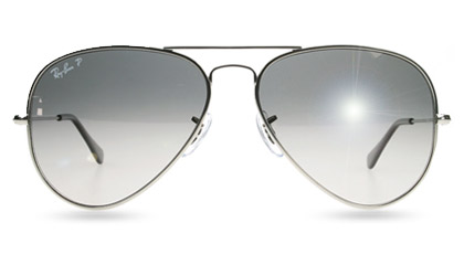 Ray-Ban 8041 Titanium Aviator at Sunglasses Shop UK