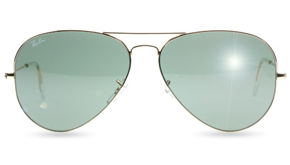 Ray-Ban 3026 Large Aviator Sunglasses at Sunglasses Shop UK