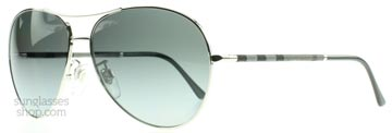 Burberry 3056 Silver 1005T3 Polariserade