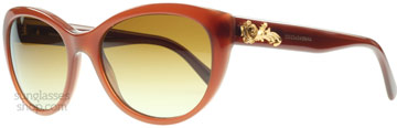Dolce and Gabbana 4160 Opal Karamell 2682T5 Polariserade