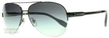 Dolce and Gabbana 6092 Svart 064/8G