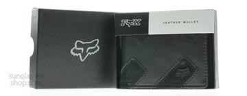 Fox 59090-001-000 Leather Wallet Svart 001