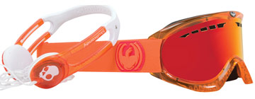 Dragon Goggles DX Skull Candy Orange 722-2845