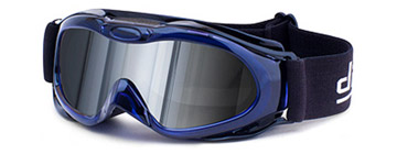 Dirty Dog Goggles Stack Crystal Blå 54022