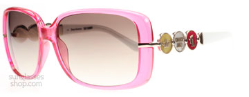 Juicy Couture Bronson Fuchsia Crystal 1M4 YY