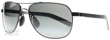 Maui Jim Guardrails Polerad Svart 327-02 Polariserade