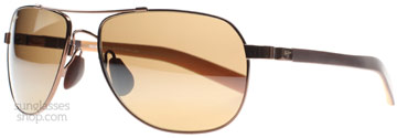 Maui Jim Guardrails Copper with Tan H327-23 Polariserade