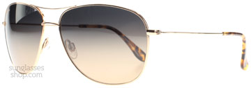 Maui Jim Cliff Guld HS247-16 Polariserade
