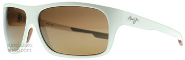 Maui Jim Island Time Matt Vit H237-05M Polariserade