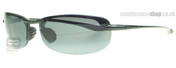 Maui Jim Makaha Reader Polerad Svart G805-02 Polariserade +1.50 power (G805-0215)