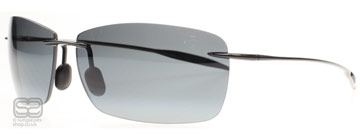 Maui Jim Lighthouse Polerad Svart 423-02 Polariserade