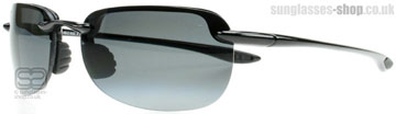 Maui Jim Sandy Beach Polerad Svart 408-02 Polariserade