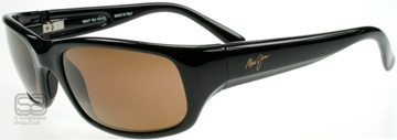 Maui Jim Stingray Polerad Svart H103-02 Polariserade