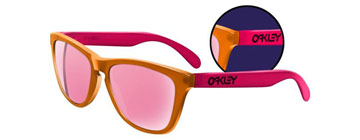 Oakley Frogskins Backlight Orange och Rosa 24-284