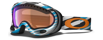 Oakley Goggles A Frame Jewel Blue Tech Stripe 57-544