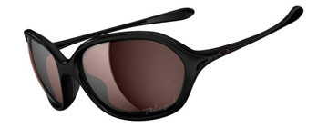 Oakley Women Warm Up Polished Black OO9176-10 Polariserade